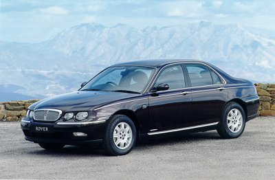 photo of Mark Sheehan Rover 75 - car