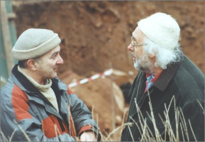 TONY ROBINSON AND MICK ASTON FROM TIME TEAM